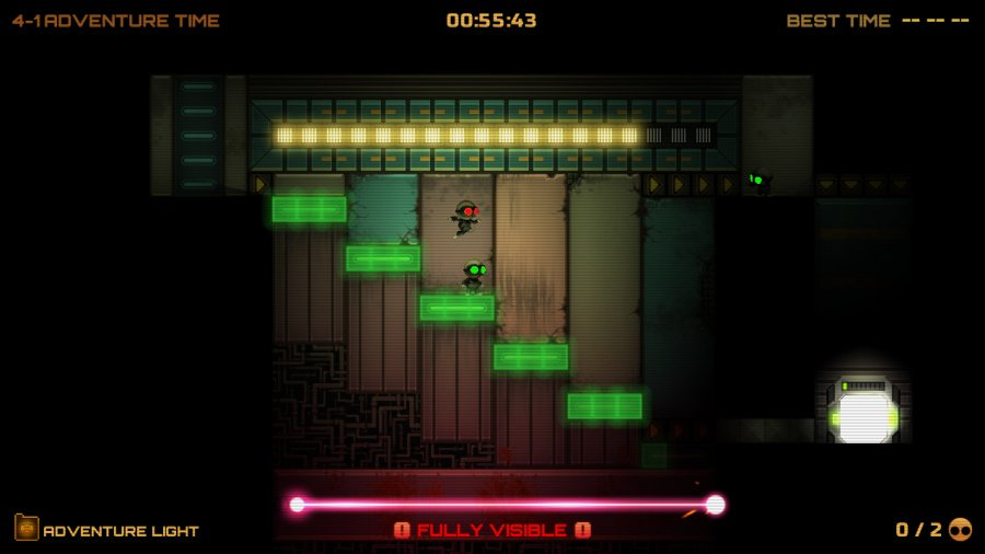 Stealth Inc 2: A Game of Clones Review - Screenshot 2 of 4