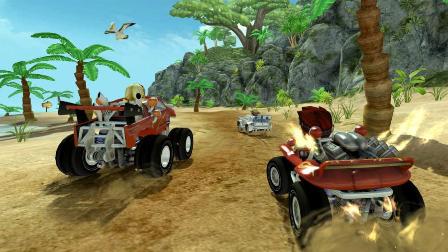 Beach Buggy Racing Review - Screenshot 1 of 3