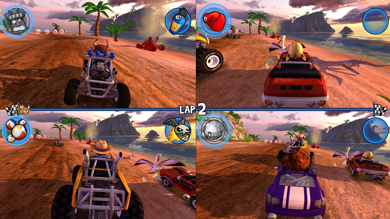 beach buggy racing ps4 playstation 4 screenshots. Black Bedroom Furniture Sets. Home Design Ideas