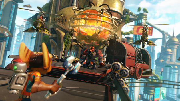 [Review] Ratchet & Clank (PS4) 630x