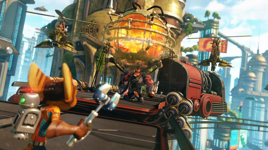 Ratchet & Clank Review - Screenshot 1 of 4