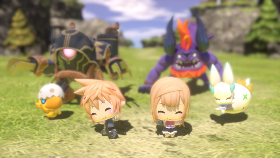 World of Final Fantasy Review - Screenshot 1 of 5
