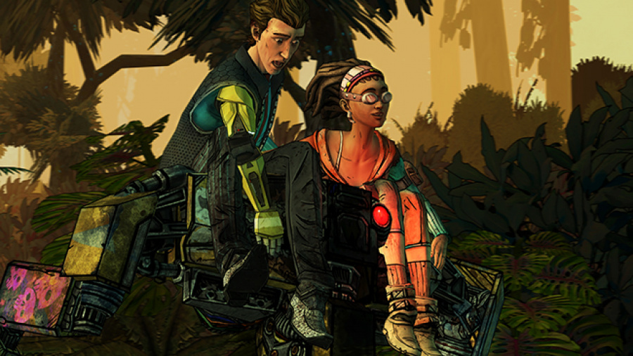 Tales from the Borderlands: Episode 3 - Catch a Ride Review - Screenshot 1 of 2