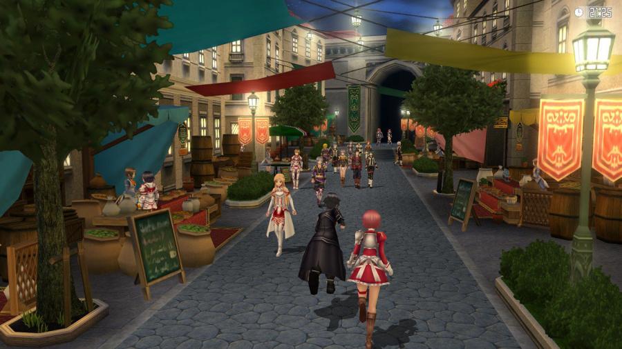 Sword Art Online Re: Hollow Fragment Review - Screenshot 1 of 5