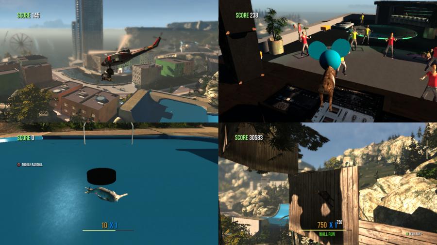 Goat Simulator Review - Screenshot 3 of 3