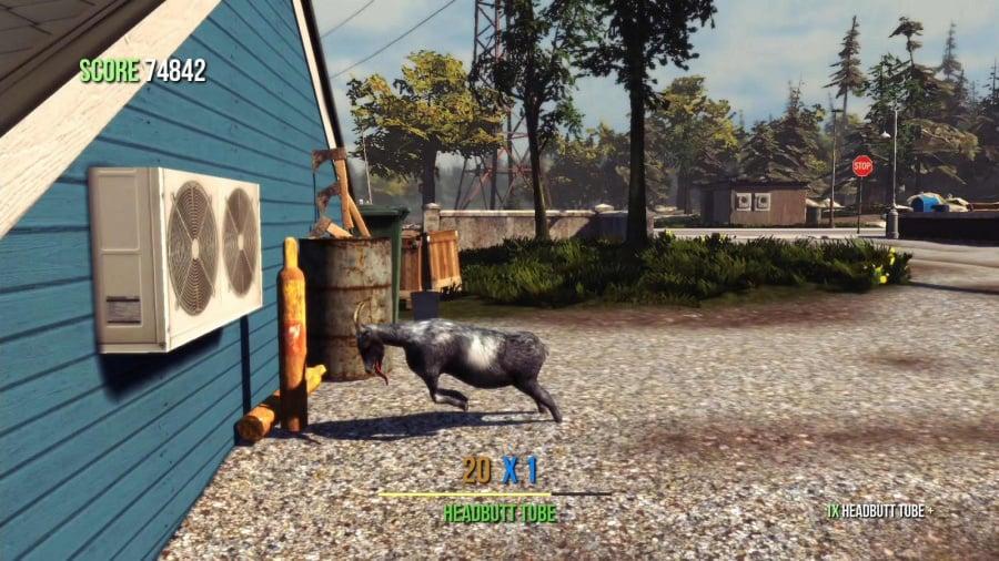 Goat Simulator Review - Screenshot 1 of 3