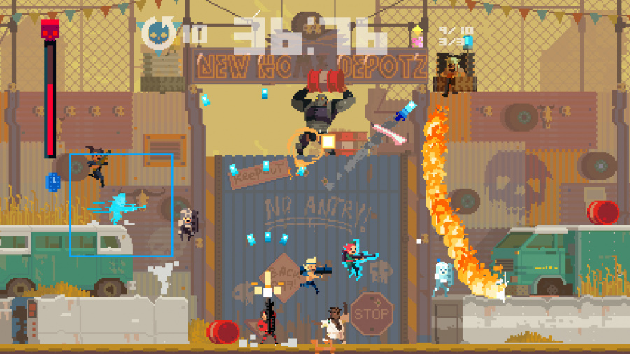 Super Time Force Ultra Review - Screenshot 2 of 4