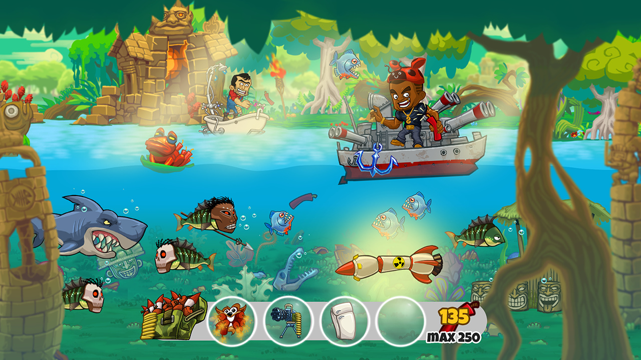 Dynamite fishing world games review ps4 push square for Playstation 4 fishing games