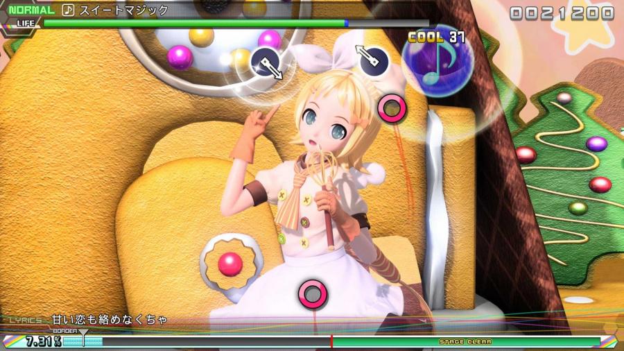 Hatsune Miku: Project DIVA Future Tone Review - Screenshot 2 of 3