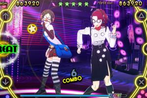 Persona 4 Dancing All Night Screenshot