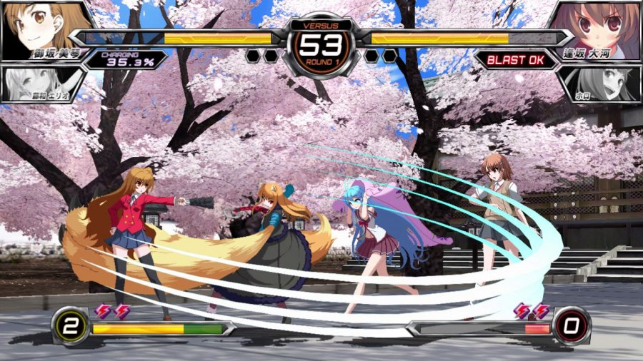Dengeki Bunko: Fighting Climax Review - Screenshot 4 of 6