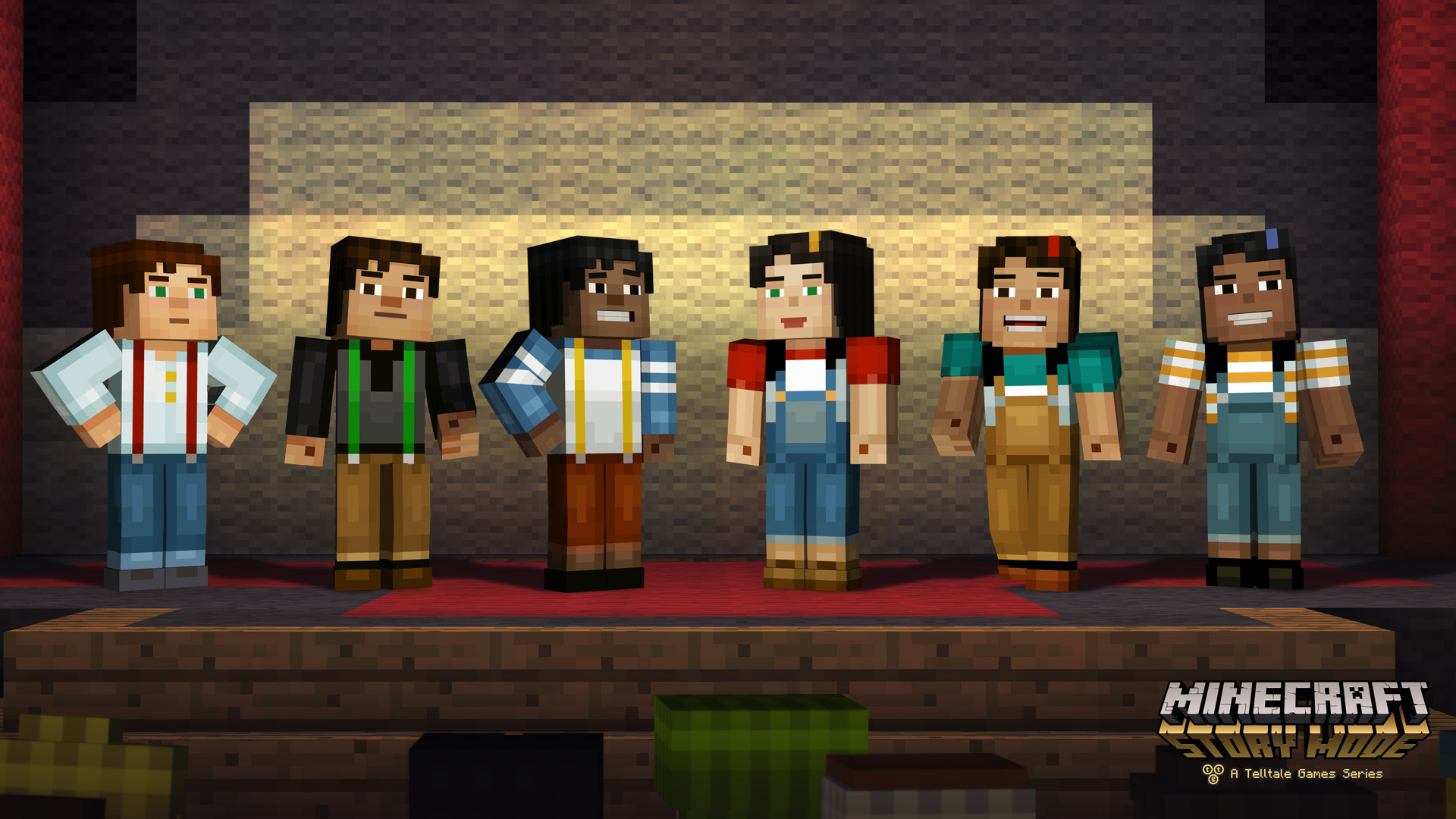minecraft story mode episode 2 assembly required ps4. Black Bedroom Furniture Sets. Home Design Ideas