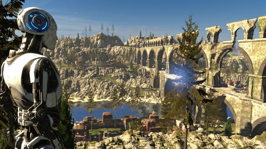 The Talos Principle: Deluxe Edition Review - Screenshot 1 of 4