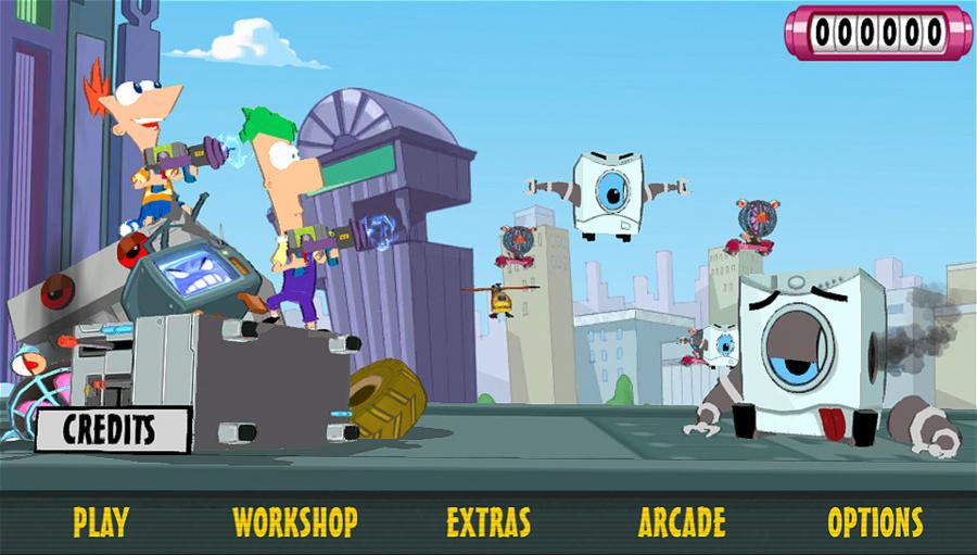Phineas and Ferb: Day of Doofenshmirtz Review - Screenshot 1 of 3