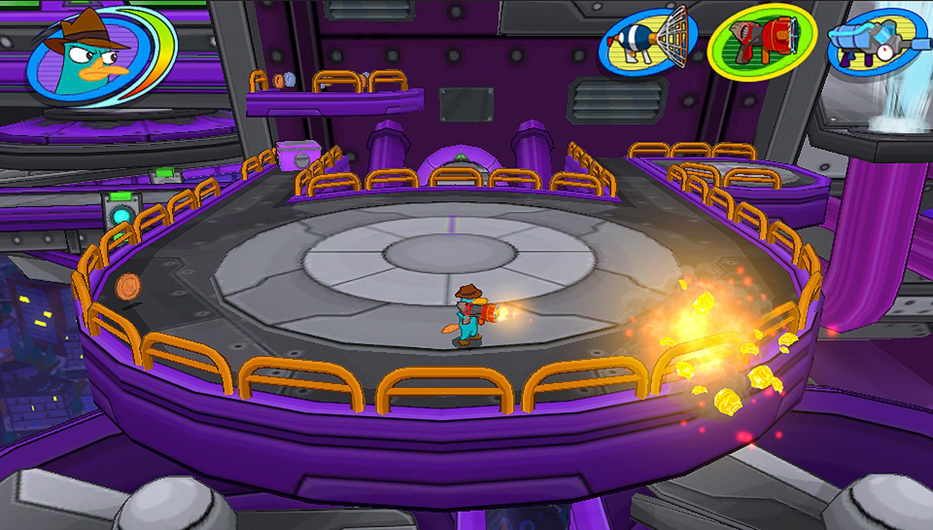 Sony Ps Vita Games Screenshots : Phineas and ferb day of doofenshmirtz ps vita