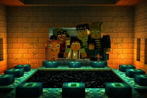 Minecraft: Story Mode – Episode 3: The Last Place You Look Screenshot