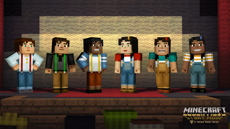 Minecraft: Story Mode – Episode 4: A Block and a Hard Place Review - Screenshot 1 of 3
