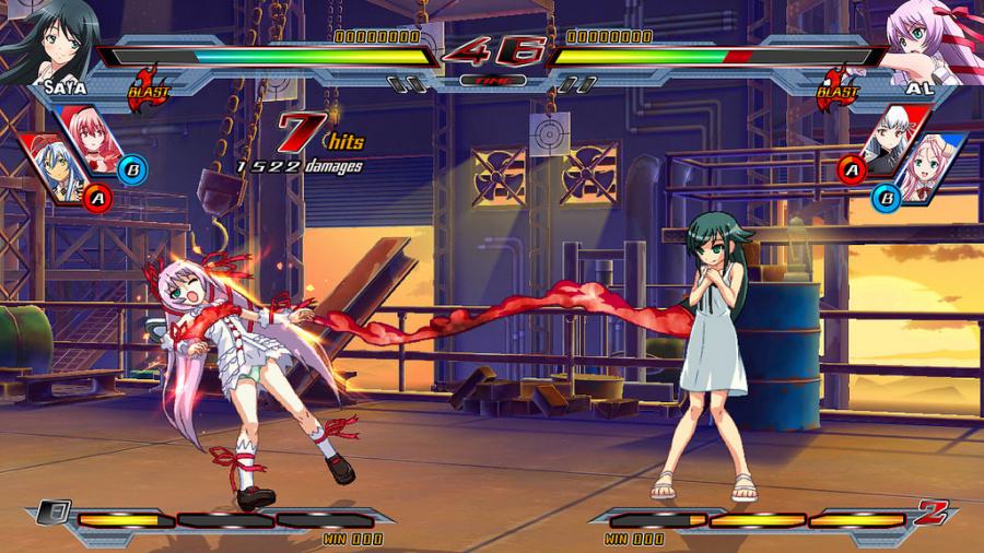 Nitroplus Blasterz: Heroines Infinite Duel Review - Screenshot 1 of 5