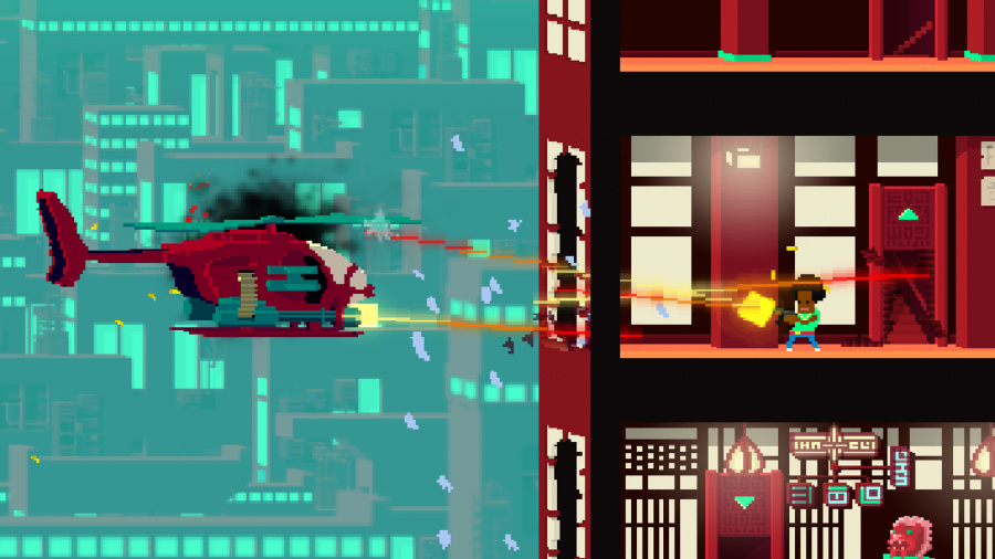 Not a Hero Review - Screenshot 1 of 3