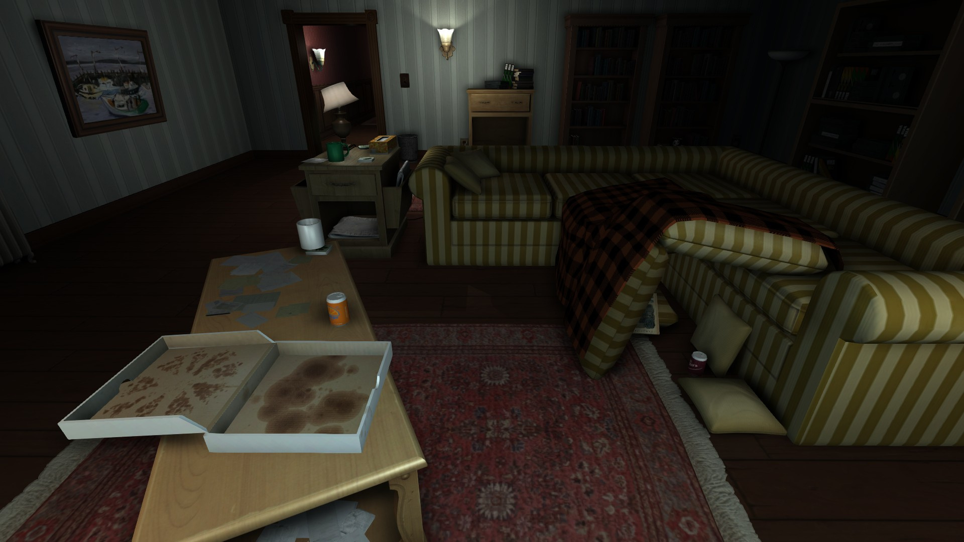 Gone home review ps4 push square for Ps4 at home