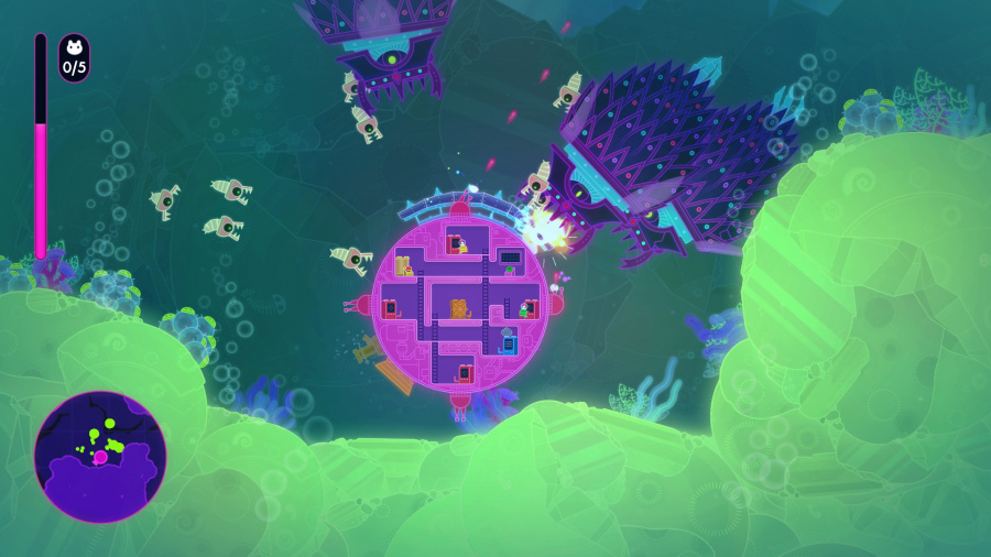 Lovers in a Dangerous Spacetime Review - Screenshot 1 of 4