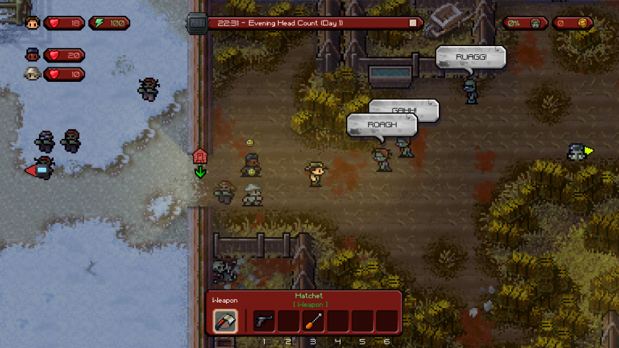 The Escapists: The Walking Dead Review - Screenshot 2 of 3
