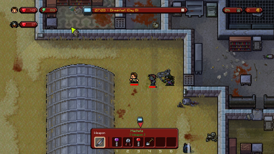 The Escapists: The Walking Dead Review - Screenshot 3 of 3