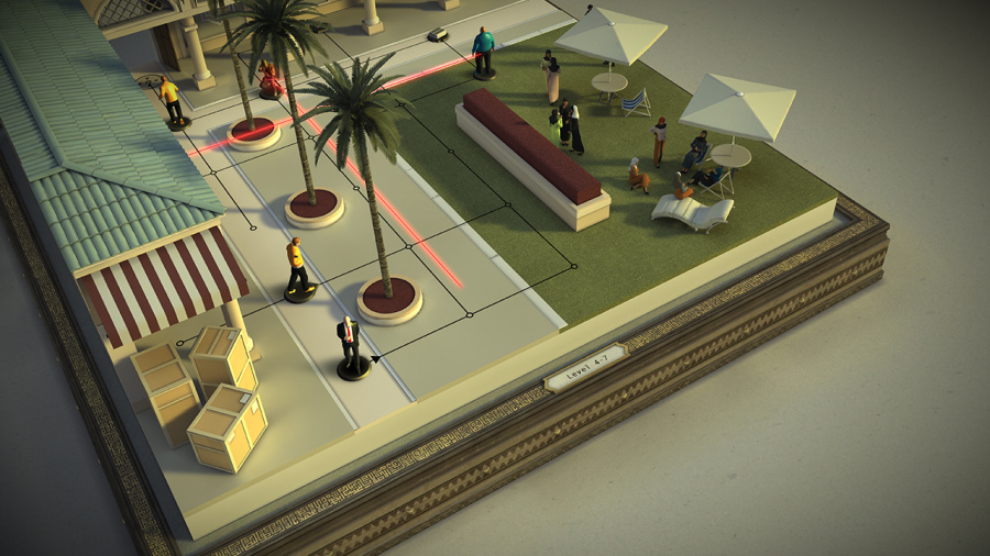 Hitman Go: Definitive Edition Review - Screenshot 1 of 3