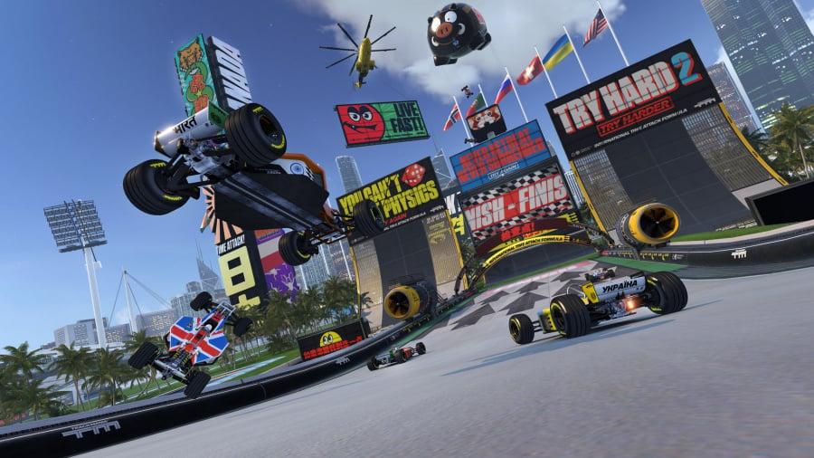 TrackMania: Turbo Review - Screenshot 1 of 5