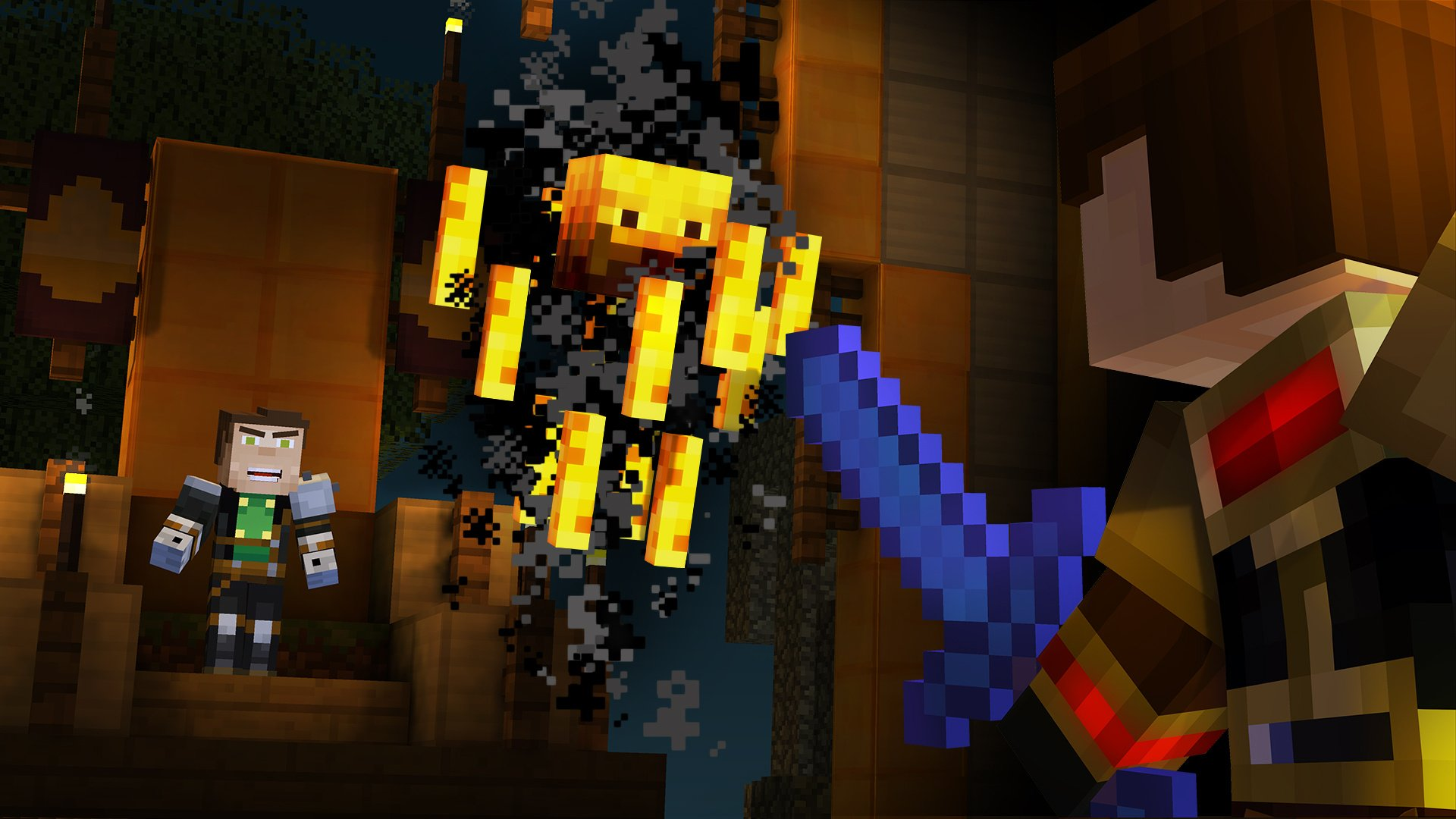 Minecraft Story Mode Episode 5 Order Up Review Ps4 Push