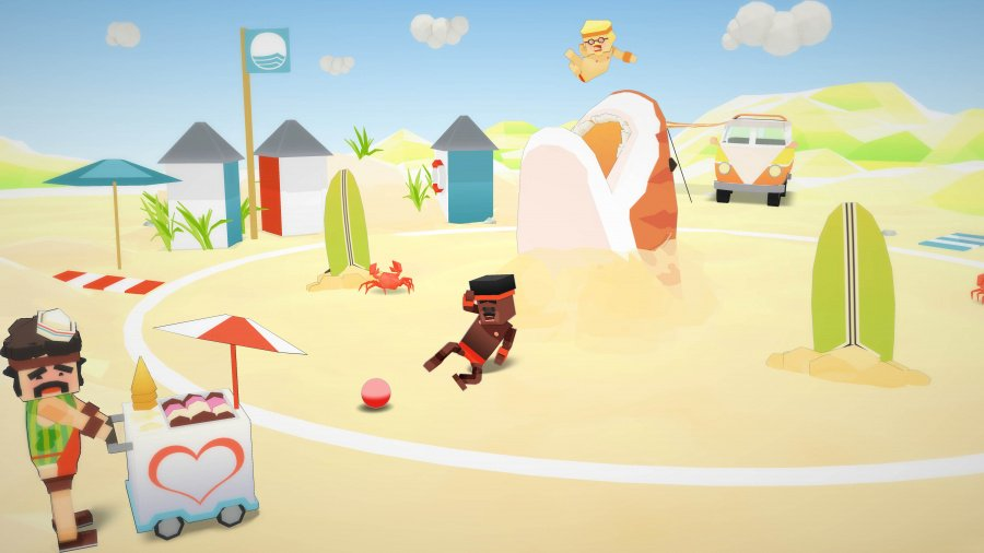 Stikbold! A Dodgeball Adventure Review - Screenshot 1 of 3