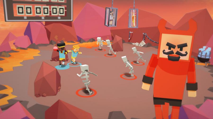 Stikbold! A Dodgeball Adventure Review - Screenshot 2 of 3