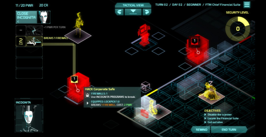 Invisible, Inc. Review - Screenshot 1 of 5