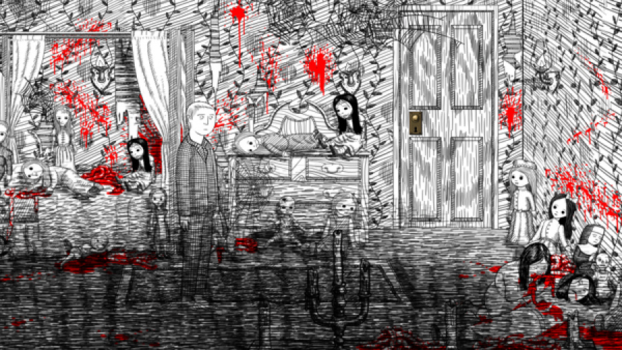 Neverending Nightmares Review - Screenshot 1 of 3