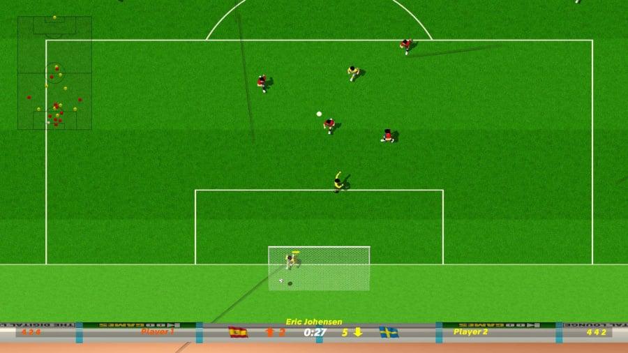 Dino Dini's Kick Off Revival Review - Screenshot 1 of 3