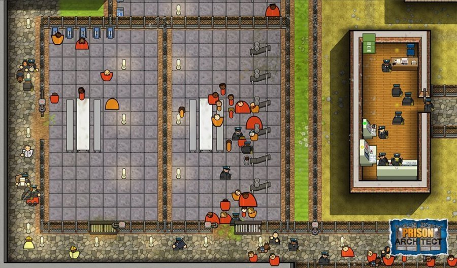 Prison Architect Review - Screenshot 1 of 5