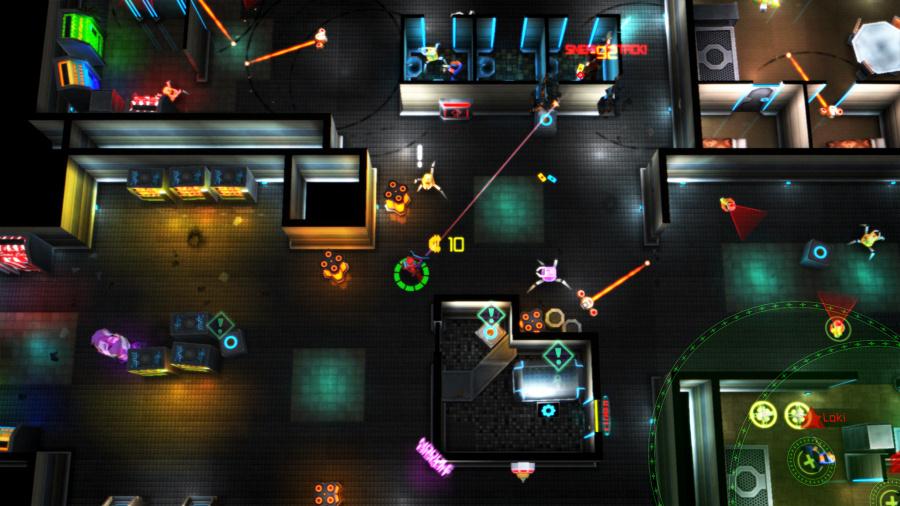 Neon Chrome Review - Screenshot 1 of 2