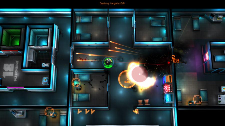 Neon Chrome Review - Screenshot 3 of 3