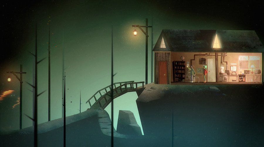 Oxenfree Review - Screenshot 2 of 4