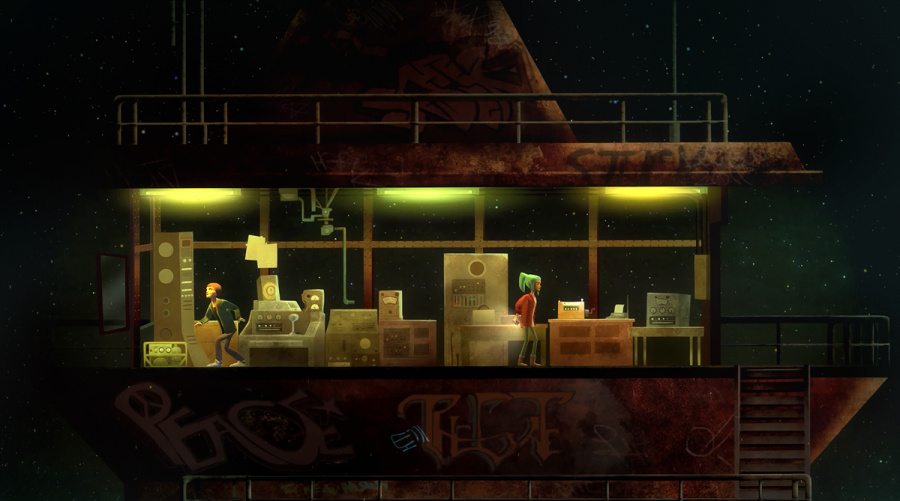 Oxenfree Review - Screenshot 3 of 4