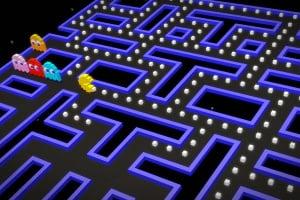 Pac-Man 256 Screenshot