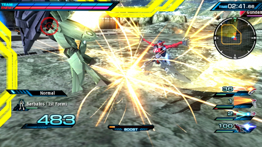 Mobile Suit Gundam: Extreme VS-Force Review - Screenshot 1 of 4
