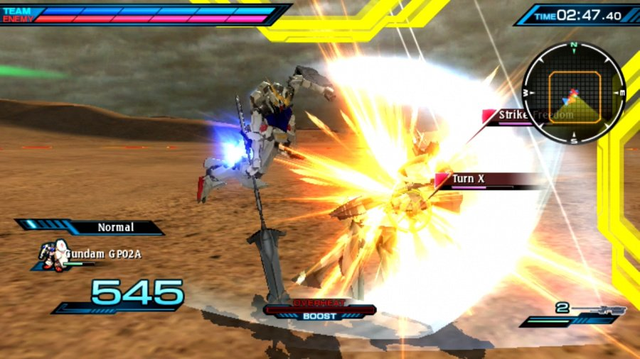 Mobile Suit Gundam: Extreme VS-Force Review - Screenshot 4 of 4