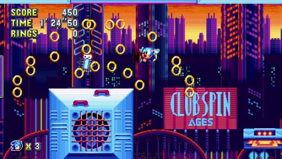 Sonic Mania Review - Screenshot 1 of 4