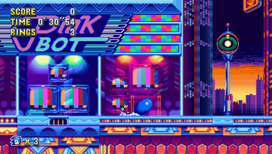 Sonic Mania Review - Screenshot 1 of 4