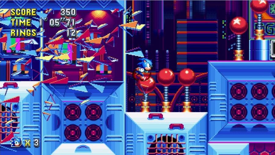 Sonic Mania Review - Screenshot 1 of 3