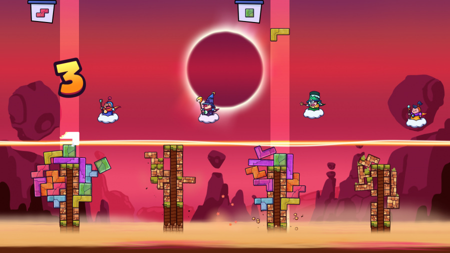 Tricky Towers Review - Screenshot 1 of 3