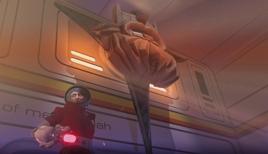 Headlander Review - Screenshot 1 of 4