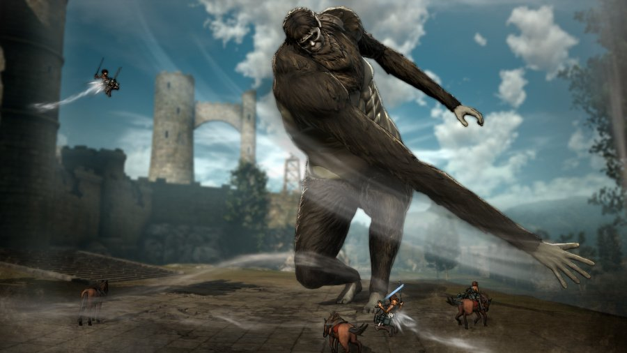 Attack on Titan: Wings of Freedom Review - Screenshot 1 of 4