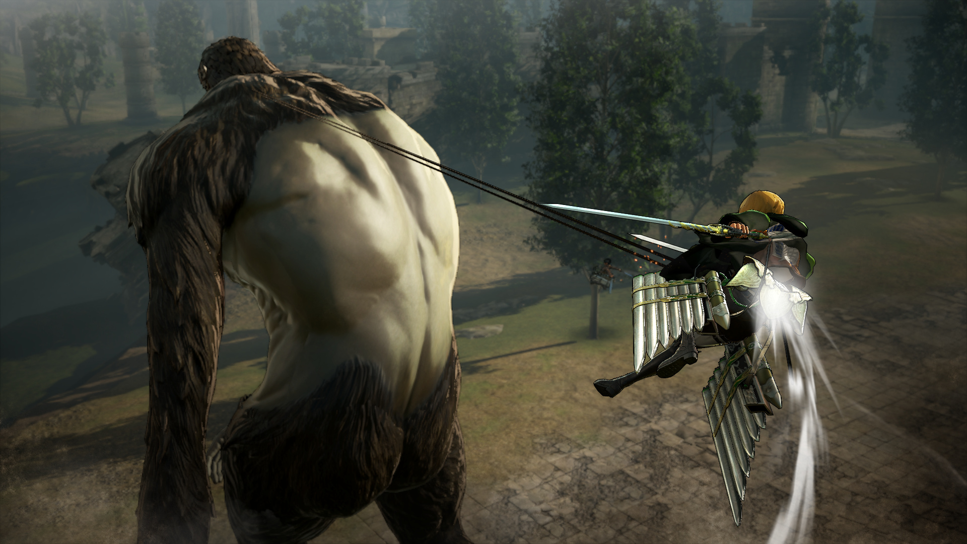 Attack On Titan Wings Of Freedom Review Ps4 Push Square Sony Screenshot 2 5